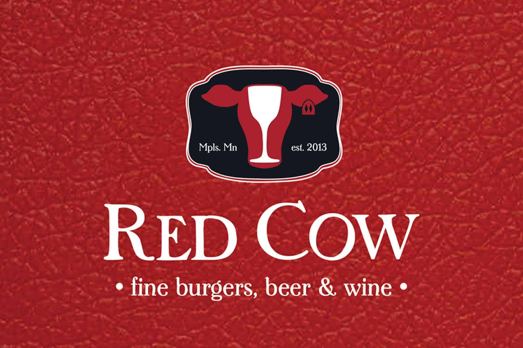 50 Gift Card Red Cow Handcrafted Burgers More In The Twin Cities